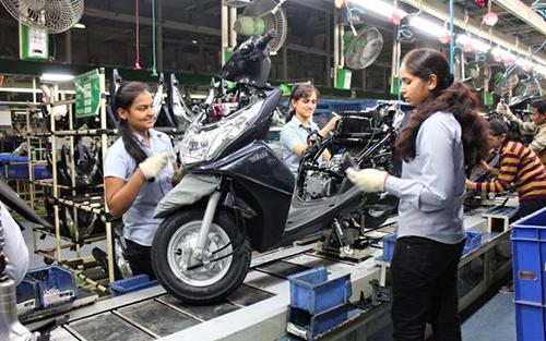バイク工場